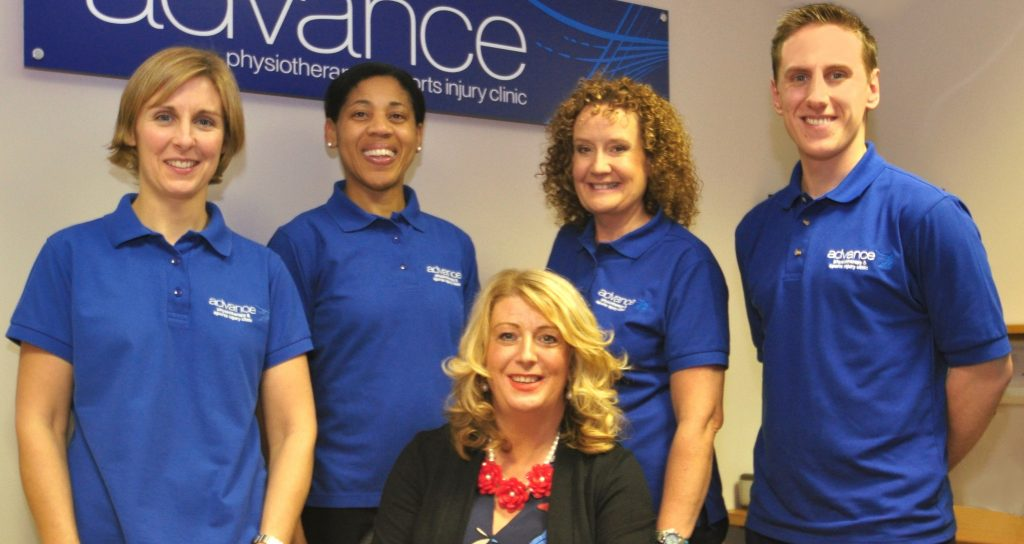 advance Physiotherapy & Sports Injury Clinic celebrates 25 years of business in Lisburn