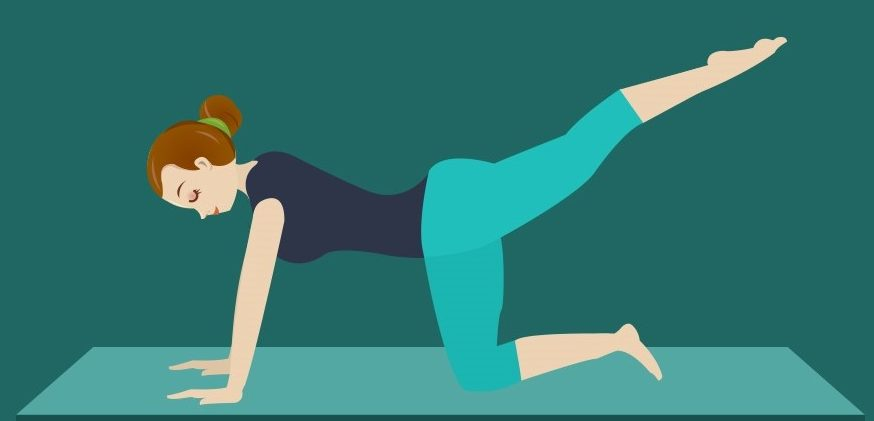 Top Pilates exercise for relieving low back pain