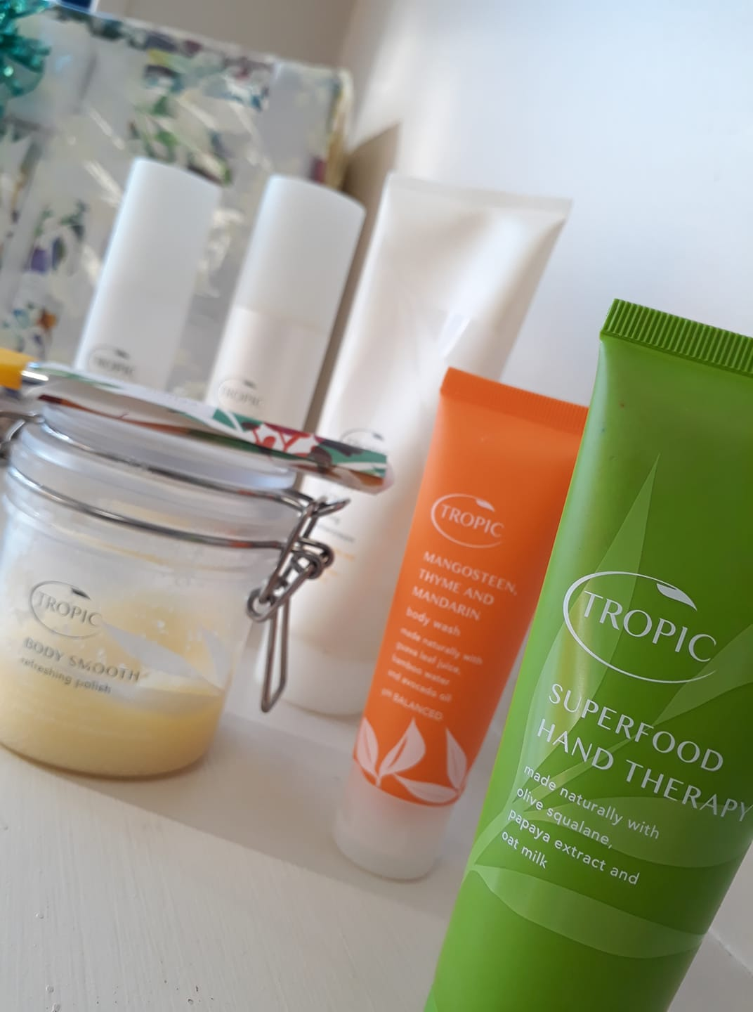 Tropic skincare charity raffle at advance Physiotherpay & Sports Injury Clinic