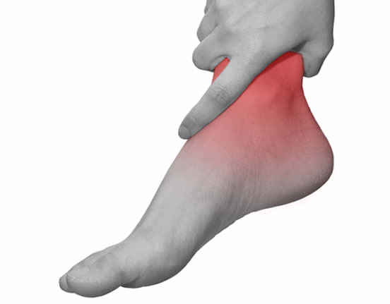 ankle pain after a acute sports injury