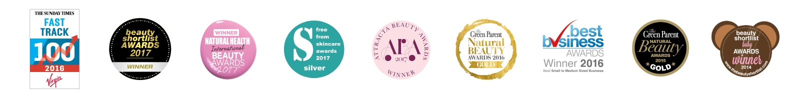 awards that Tropic Skincare have won