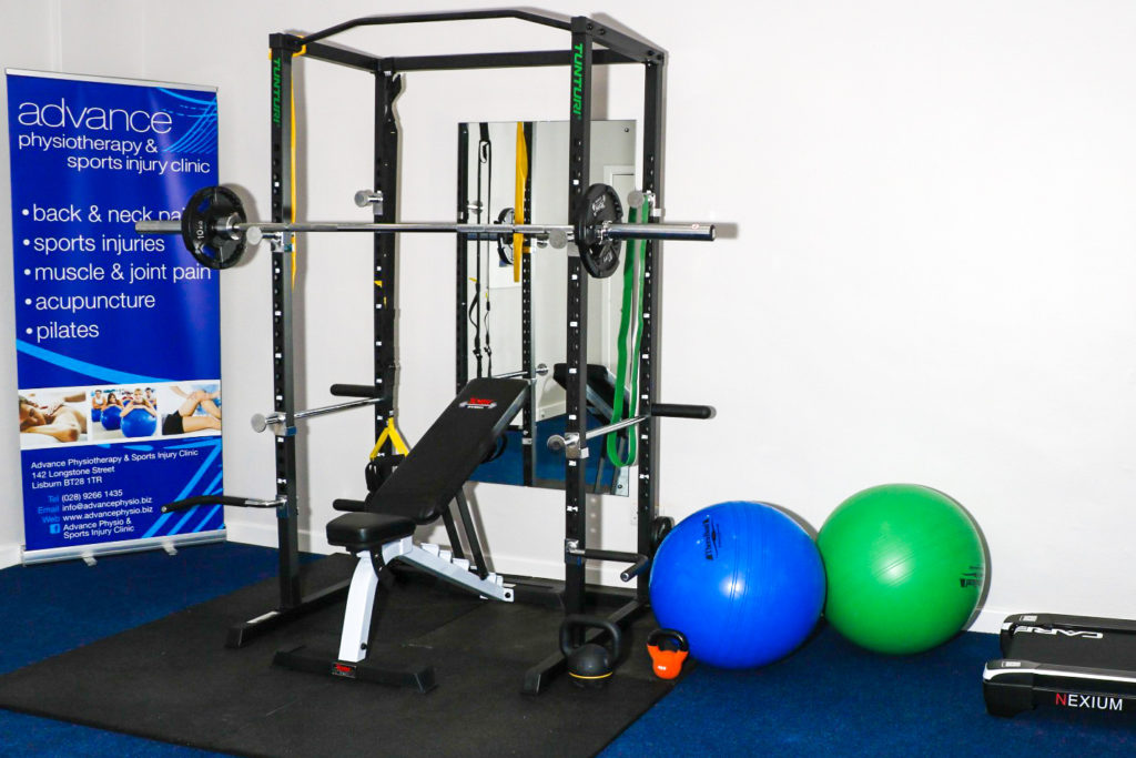 REHAB GYM LISBURN  |  advance physiotherapy & sports injury clinic