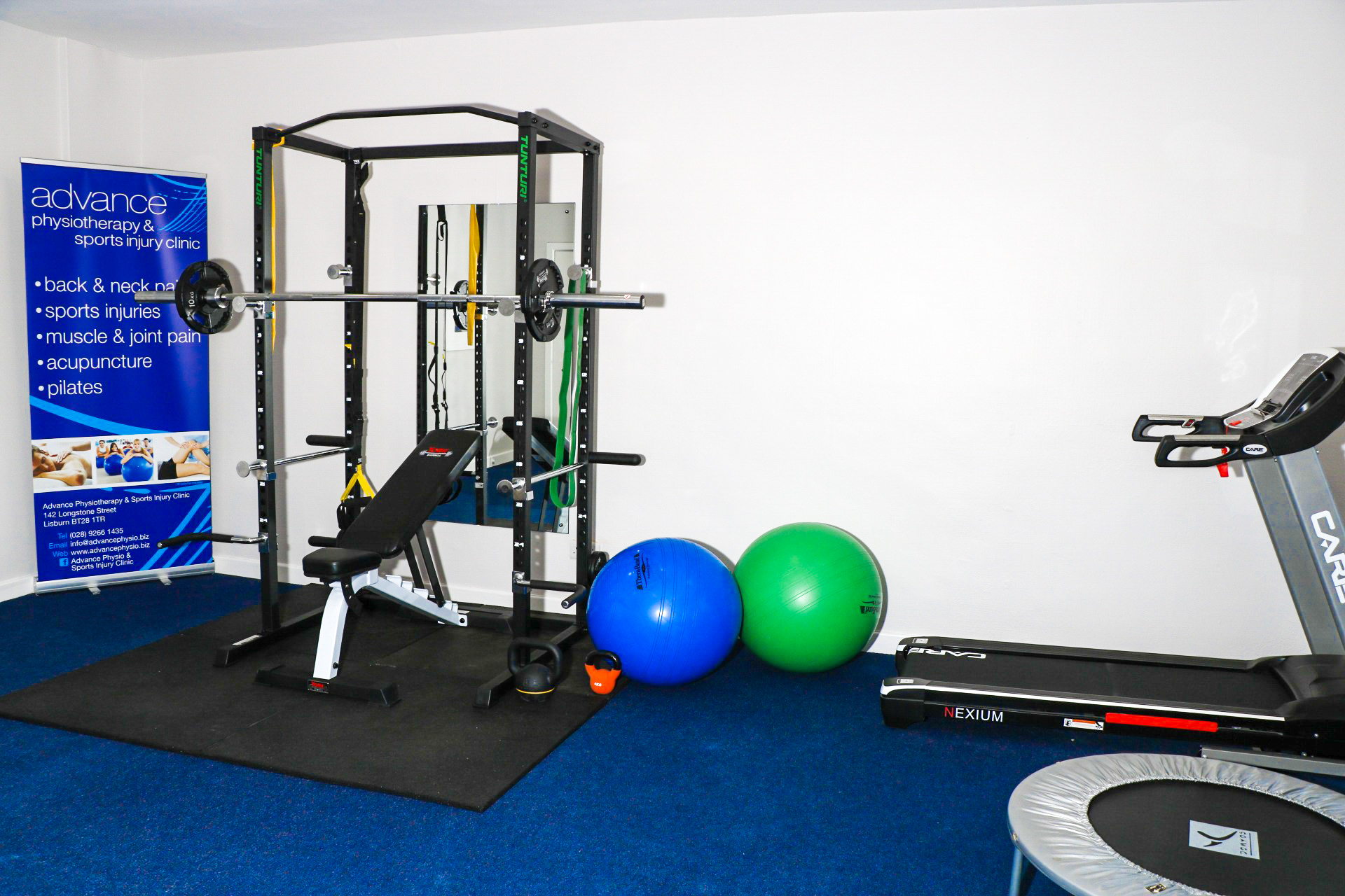 rehab gym newly refurbished